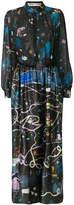 Tsumori Chisato graphic space print dress