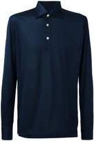 Kiton long sleeve polo shirt - men - Cotton - M