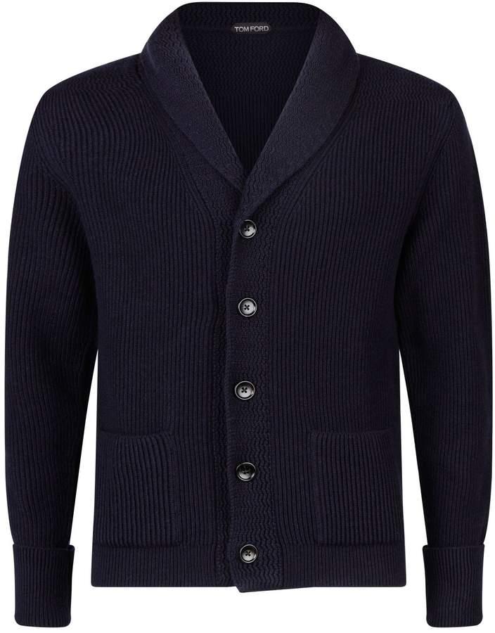 Tom Ford Rib-Knit Cashmere Cardigan