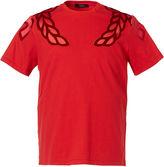 MCM Unisex Laurel Wreath Motif T-shirt
