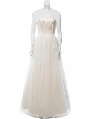 Brunello Cucinelli Sleeveless Pleated Gown