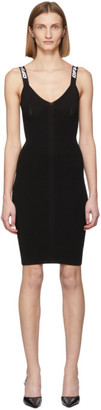 Off-White Black Knit Industrial Dress