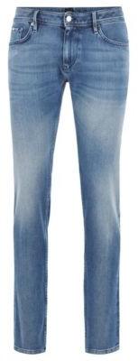 Extra-slim-fit jeans in eco-friendly double-stretch Italian denim