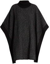 Tomas Maier Striped roll-neck wool poncho