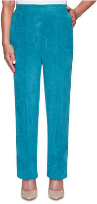 Alfred Dunner Walnut Grove Faux-Suede Pants