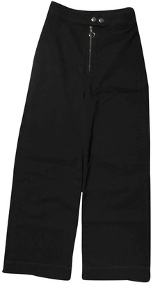 And other stories & & Stories Black Cotton - elasthane Jeans for Women