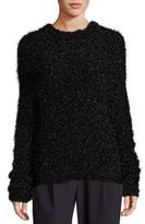 Tibi Gleam Crewneck Sweater