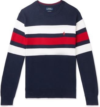 Polo Ralph Lauren Striped Supima Cotton Sweater