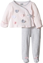 Mud Pie Heart Take Me Home Set Girl's Active Sets