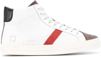 D.A.T.E Hill colour-block high-top sneakers
