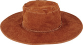 San Diego Hat Company Women's Real Suede Floppy Sun Hat CTH8040