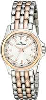 Lucien Piccard Women's LP-13459-SR-22S Adina Analog Display Japanese Quartz Two Tone Watch