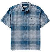 Tommy Bahama Short-Sleeve Orinoco Ombre Woven Shirt