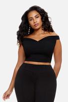 Fashion to Figure Kyra Off Shoulder Crop Top