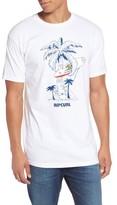 Rip Curl Men's Cali Vibes Premium Graphic T-Shirt