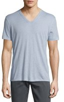 John Varvatos Wisteria Short-Sleeve V-Neck T-Shirt, Purple
