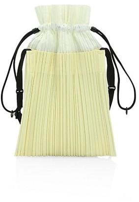 Pleats Please Issey Miyake Square Pleats Shoulder Bag