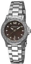 Stuhrling Original Women's 162A1.111172 Nautical Regatta Swiss Quartz Mother-of-Pearl Date bracelet Watch