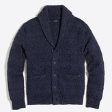 J.Crew Factory Cotton shawl-collar cardigan sweater