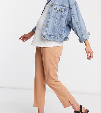 Asos DESIGN Maternity mix & match tailored cigarette suit pants with over bump band
