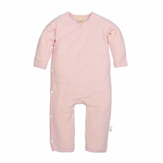 Burt's Bees Baby Baby Girls Romper Jumpsuit 100% Organic Cotton One-Piece Coverall