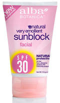 Alba Broad Spectrum Sunscreen SPF 30 for the Face