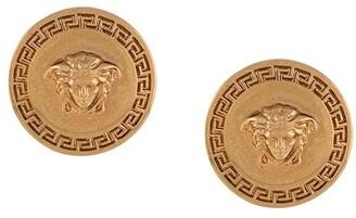 Versace Medusa circular earrings