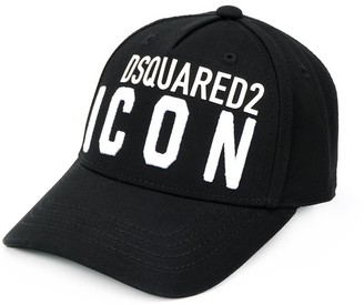 DSQUARED2 ICON embroidered cap