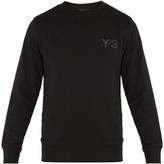 Y-3 Logo-print cotton sweatshirt
