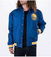 J H DESIGN GROUP Men's JH Design Golden State Warriors NBA Reversible Zig Zag Jacket