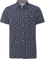 White Stuff Men's Grifter print ss shirt