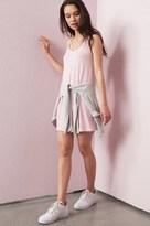 Garage Strappy V-Neck Cami Swing Dress