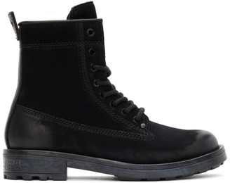 Diesel Black D-Throuper DBB ZC Boots