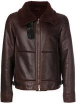 Jil Sander fur collar jacket - men - Lamb Skin - 48