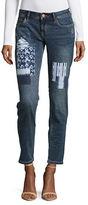 Tommy Bahama Shibori Tema Slim Boyfriend Jeans