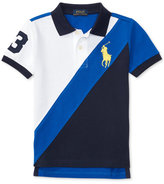 Ralph Lauren Cotton Banner Polo Shirt, Toddler & Little Boys (2T-7)