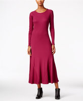 G.H. Bass & Co. Waffle-Knit Maxi Dress