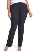 Melissa McCarthy Plus Size Women's Embellished Slim Bootcut Jeans