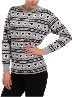Boutique Moschino Double Logo Jumper