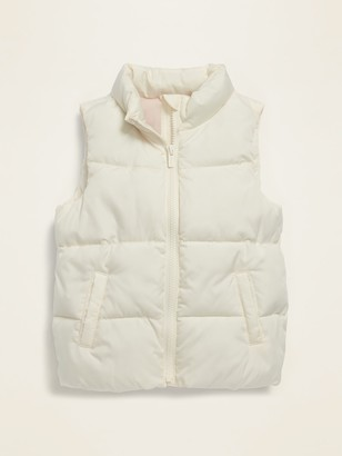 Old Navy Solid Frost-Free Puffer Vest for Toddler Girls