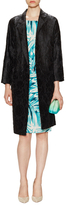 Tracy Reese Jacquard Belted Coat