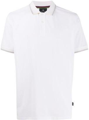 Paul Smith Short Sleeve Contrast Trim Polo Shirt