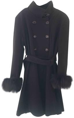 La Perla Brown Wool Coat for Women