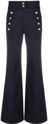Chloé High-Waist Flared Trousers