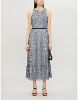 Ted Baker Floral-pattern lace midi dress