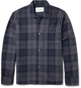 Our Legacy - Checked Cotton-flannel Overshirt