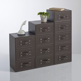 La Redoute Interieurs Rockford Faux Leather 4-Drawer Cabinet