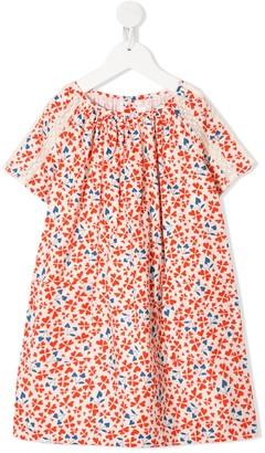 Bonpoint Heart-Print Dress
