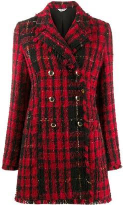 Liu Jo Plaid Weave Jacket