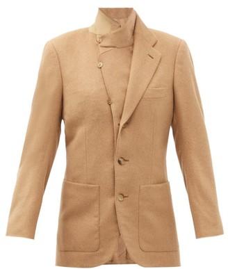 Umit Benan B+ - Single-breasted Camel-hair Jacket - Beige